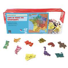Puzzle Carte De France Departement