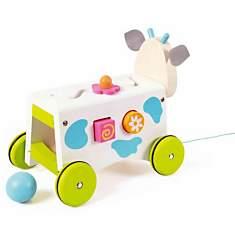 Chariot multi-activités Marie la vache