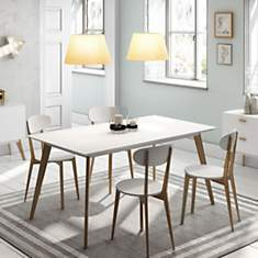 Chaise de table design Compas