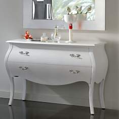 Commode 2 tiroirs design
