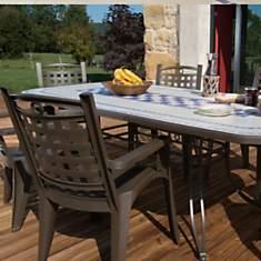 Salon de jardin de repas Verona-Bora des...
