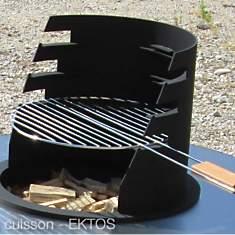 Braséro Kit Grill Ektos