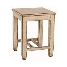 Tabouret assise bois