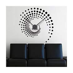 Sticker Horloge Spiral