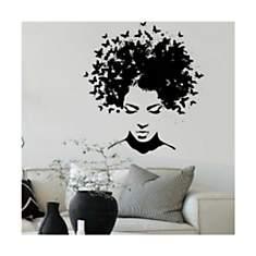Sticker Cheveux créatif