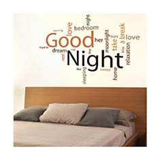 Sticker Good night
