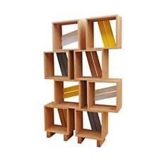 Meuble bibliothèque modulable 8 casiers ...