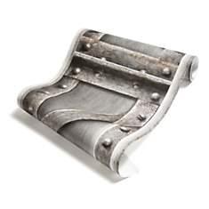 Papier Peint Poutre métallique à treilli...