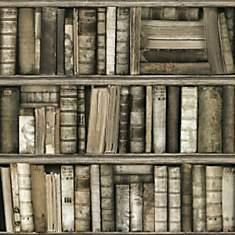 Papier Peint Bibliothèque antique