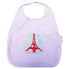Bavoir bébé élastiqué Tour Eiffel libert...