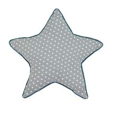 Coussin étoile en coton Nuages