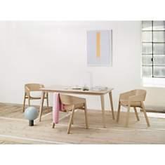 Table rectangle 90 x 180cm JUTLAND