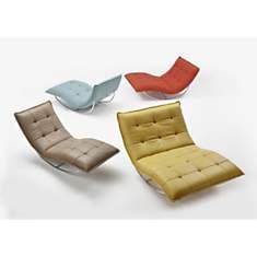 Chaise de relaxation ROCKME XXL avec sup...