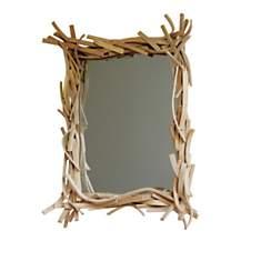 Miroir design en bois Agathe grand modèl...