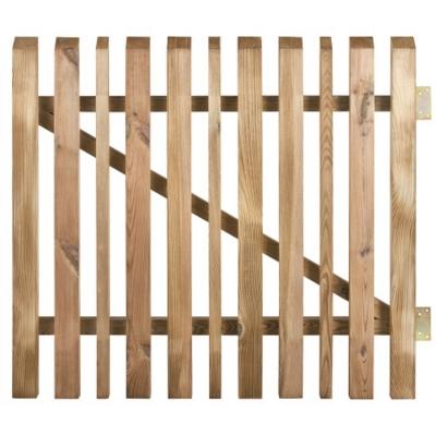 Portillon OBLIK Ce portillon, associé à une clôture, matérialise la délimitation de propriété Matière : pin Traitement : autoclave (stérilisation) Finition : cl.3 Certification FSC (écolabel qui assure que la production de bois ou d'un produit à base de b