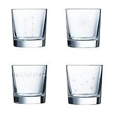 Lot de 4 Verres à eau 30 cl CRISTAL D'AR...