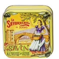 Savon Lavande 100 g et Boite Métal Pont