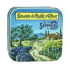 Savon Lavande 100 g et Boite Métal Prove...