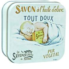 Savon Fleur de Coton 100 g et Boite Méta...