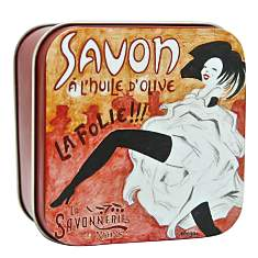 Savon Rose de Mai 100 g et Boite Métal L...