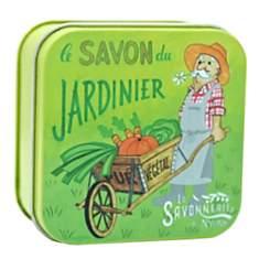 Savon boite métal Jardinier