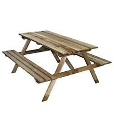 Table pique-nique en bois 4 places Marly