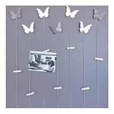 Cadre décoration photos papillons