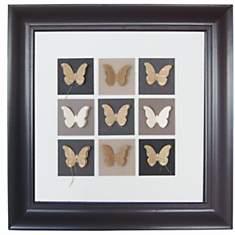 Cadre déco original papillons