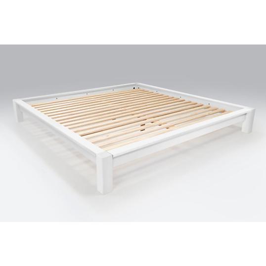 lit king size 200 x 200 cm bois. Black Bedroom Furniture Sets. Home Design Ideas