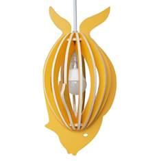 Zooo - Lampe à suspendre poisson en bois...