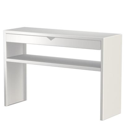 Console avec tiroir et étagère Spirix