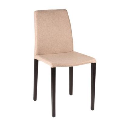 Lot de 2 chaises Olivia assise et dossier en feutrine