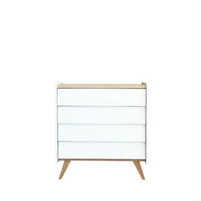 Commode Blanche Blanc