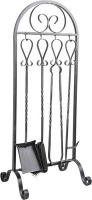 Serviteur de cheminée 4 accessoires
