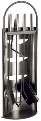 Valet de cheminée 4 Accessoires en Métal