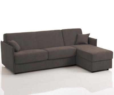 Canapé d'angle convertible tissu Marzia