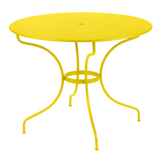Table ronde fermob op ra 4 6 personnes - Table ronde 4 personnes ...