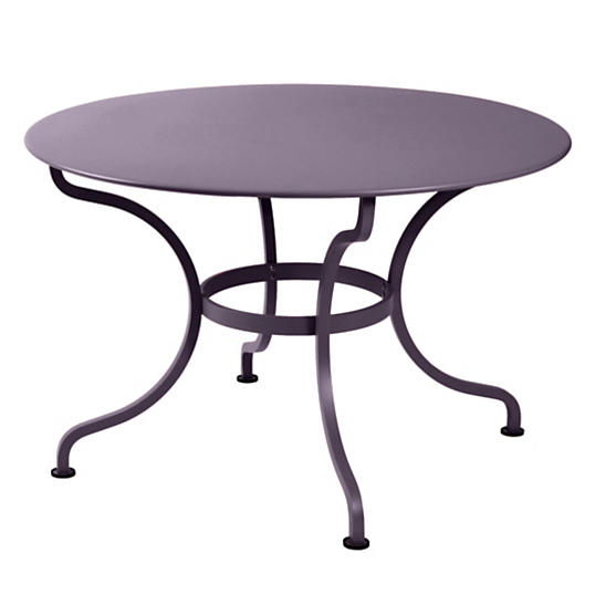 Table ronde fermob romane 6 8 personnes for Table ronde 8 personnes dimensions