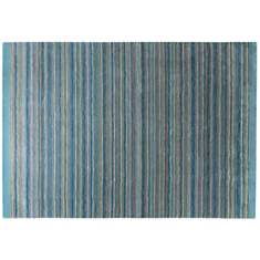 Tapis Samba Stripes ESPRIT HOME, bleu p�...