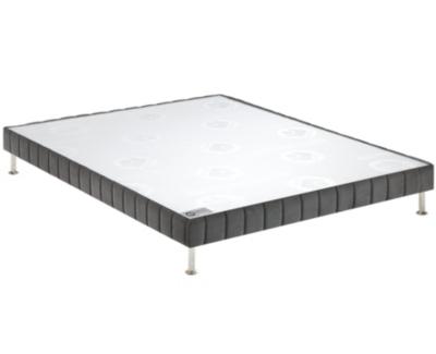 Sommier Confort ferme Morphologique  BULTEX 14 cm, finition velours, FIN DE