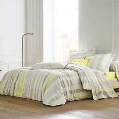 Housse de couette percale Sweet Home  SA...