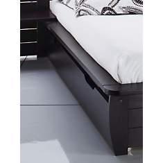 Lot de 2 tiroirs pour lit Théo wengé 140...