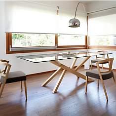 Table rectangulaire Tree DOMITALIA