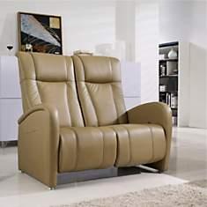 Canapé de relaxation manuel en cuir Tys...