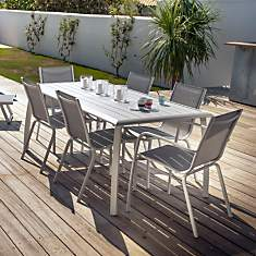 Table rectangulaire Azuro,  8/10 personn...