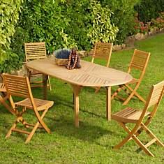 Table Durban 160/220x100 cm,  eucalyptus...