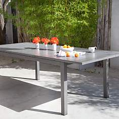 Table OCEO Turin, aluminium 220/300 x 11...
