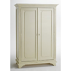Armoire 2 portes Romance blanc  ...