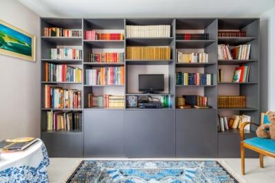 Bibliothèque sur-mesure Jean-Pierre MOBIBAM