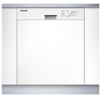 Lave-vaisselle intégrable BRANDT VH900WE1 13 couverts bandeau blanc pour 499€